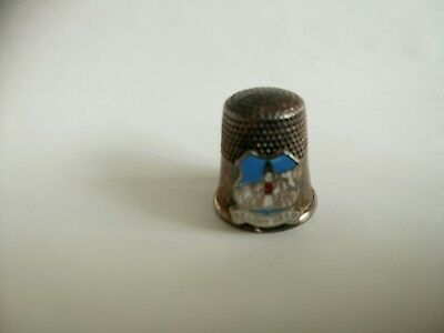 Metal Thimble - Beachy Head, Sussex, England