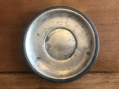 """Vintage Watson Company Sterling Silver Plate- 8"""" Plate L1"""