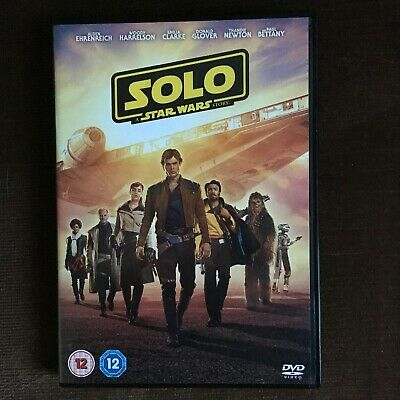 Solo: A Star Wars Story DVD. 2018