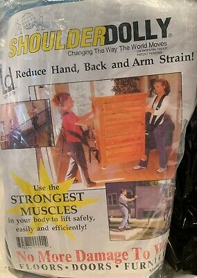 Shoulder Dolly 2-Person Lifting and Moving System - Easily Move, Lift, Carry,