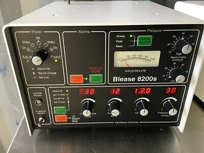 Blease 8200s Anaesthesia Ventilator taken from a working environment