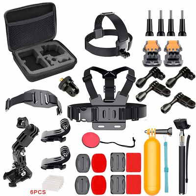 GeeKam Action Camera Accessories Kit for Underwater Camera 4K Sports Camera
