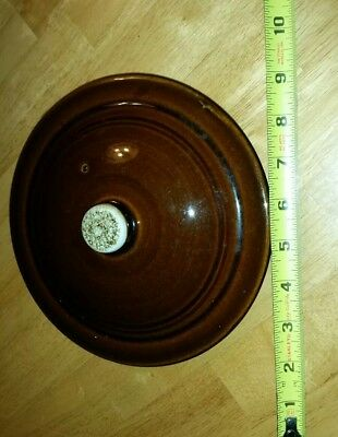 Stoneware Crock Cover Lid Top