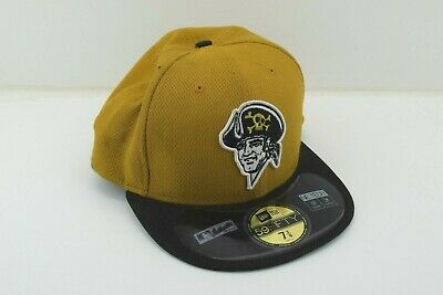 online store 5307b 60a6e Pittsburgh Pirates New Era 39Thirty MLB Diamond Era 2 Tone M L Fitted Cap  Hat