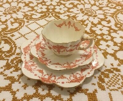 Antique Paragon Star Tea Trio