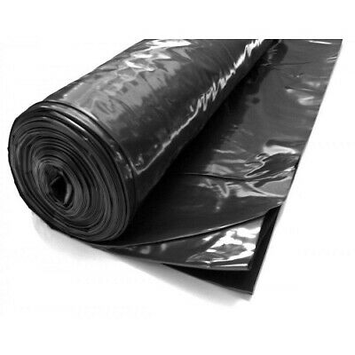 DPM Damp Proof Membrane 300MU 4m x 25m Wide Polythene Sheet 1200 Gauge