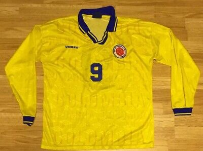 6696f947009 VINTAGE UMBRO COLOMBIA #9 Men's Soccer Jersey Size XL - $99.99 ...