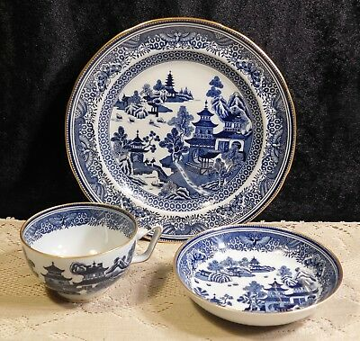 Copeland Spode New Stone 3 piece: Dish Cup & Plate 'Rock Pattern 1950s England