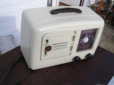 Vintage Emerson Tube Radio for parts or repair