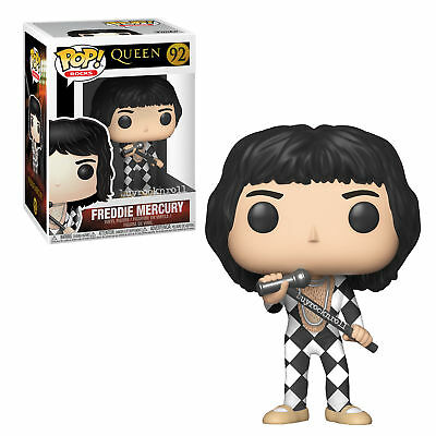 Queen Handpicked 2018 Funko Pop! Rocks Freddie Mercury Harlequin Figure #92