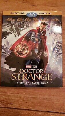 Doctor Strange Blu-ray /DVD 2017 2-Disc Digital Copy Not Inlcuded