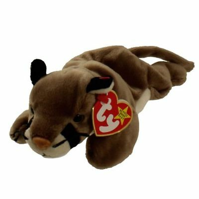 ty beanie baby CANYON cougar mountain lion kitten cat MWMTS