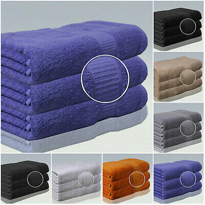 3 x Super Jumbo Bath Sheets Combed Towels Extra Large Size 90 x 160 Bath sheet !