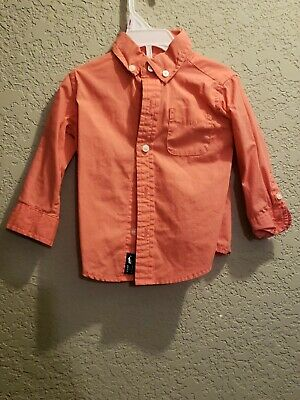 Janie and Jack Baby boy dress shirt 6-12 months