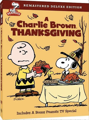 A Charlie Brown Thanksgiving (DVD, 2008, Remastered Deluxe Edition) BRAND NEW!
