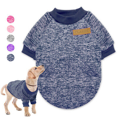 Small Dog Knitted Sweater Chihuahua Clothes Winter Warm Soft Knitwear for Puppy
