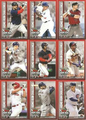 2019 Topps Series 1 Home Run Challenge Inserts Unscratched ***you Pick***