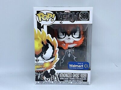 Funko Pop! Marvel Venom 369 Venomized Ghost Rider Walmart Exclusive