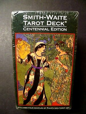 Smith-Waite TAROT DECK Centennial Edition NEW, SEALED. 84 Cards and Instructions