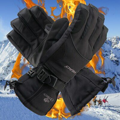 Winter Waterproof Snowboard Snow Gloves 3M Thinsulate Cold Weather Wrist Band