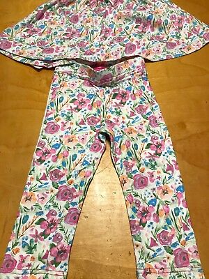 Lot of new girls clothes SOFT Clothing nWT size 4 cotton dress pants & more P10