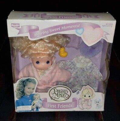 Rare 1995 Rose Art Precious Moments First Friends Doll in box