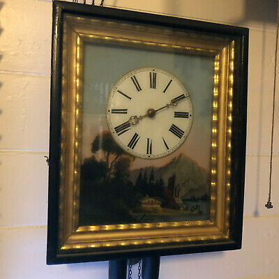 Black Forest Picture Frame Clock no.1