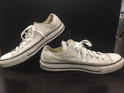 7ab5bc7de1f4 Converse Chuck Taylor All Star Low Light Gray Mens 9 Ox Worn Once Womens 11  Shoe