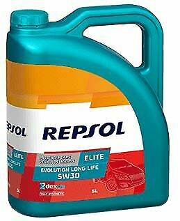 REPSOL 5W30 Longlife  Elite Evolution 5 LT MB Approval 229.52 VW 505.01