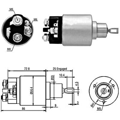 Starter Solenoid Switch For MERCEDES PUCH Viano Vito Mixto G-Modell 0011522810