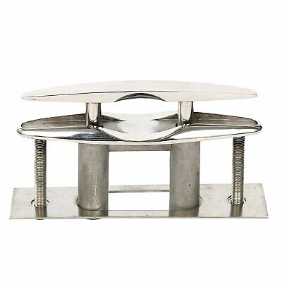"""Amarine-made 6"""" Stainless Steel Pull up Cleat Flush Mount Cleat Lift Boat Marine"""