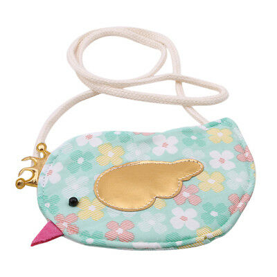 Children Girls Creative Bird Shape Coin Purse Change Wallet Money Pouch TO