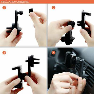 Universal Car Air Vent Mount Holder Cradle Stand Bracket For Mobile Phone TO