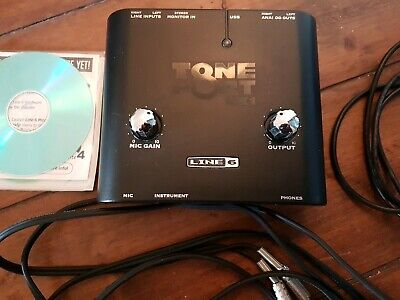 Line 6 Toneport UX1 USB Guitar Interface Amp Modelling System with Ableton Lite