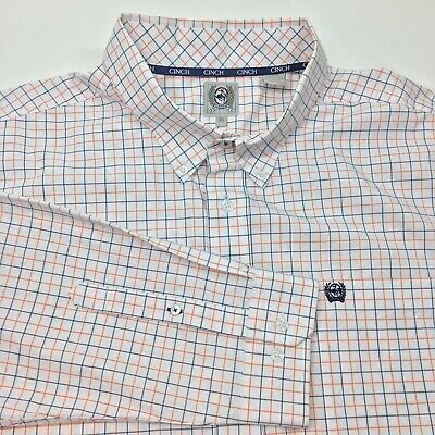 NEW Men/'s Cinch Shirt MT66222001