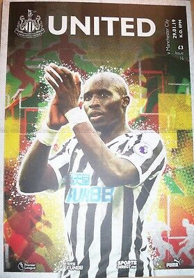 *Footpall Programme* Newcastle United v Manchester City 29/01/2019