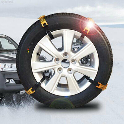 BA2E Transparent Yellow Snow Tire Chain Snow Chain Roadway Safety
