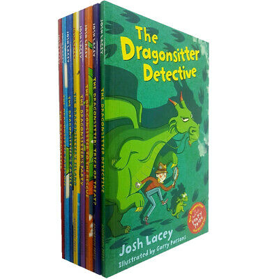 Dragonsitter series Josh Lacey Collection 8 Books Set  Paperback Trick or Treat?