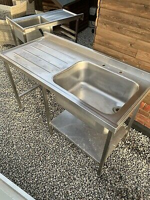 commercial kitchen Sink 1400mm Long. No Reserve