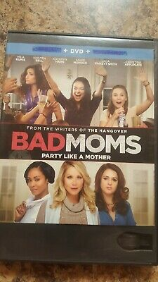 Bad Moms (DVD, 2016) No Blu-ray or Digital Code