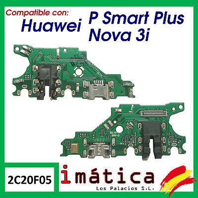 CONECTOR DE CARGA HUAWEI P SMART PLUS / HONOR 3i PUERTO PLACA MICRO USB PORT