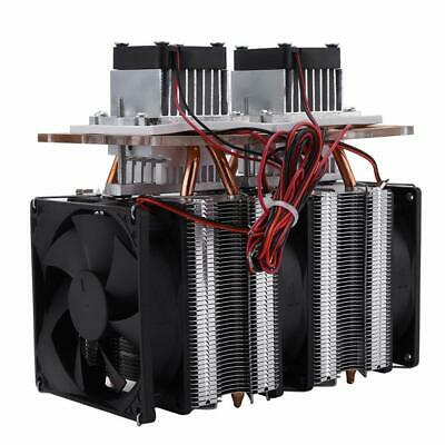 Dual-core Semiconductor Refrigeration Thermoelectric Peltier Air Cooling Dehumid