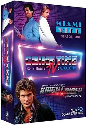 Crime Time Tv: Miami Vice & Knight Rider 683904894588 (DVD Used Very Good)