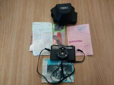 1970's Yashica MG-1 Rangefinder Camera & Case with Instructions