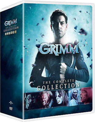 Grimm: The Complete Collection season 1- 6 (DVD 2018, 29-Disc Box Set)