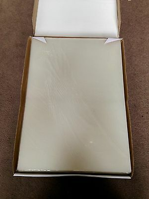 Box 100 A3 Laminator Pouches Sleeves High Quality Clear Glossy Low Melt 175 Micr