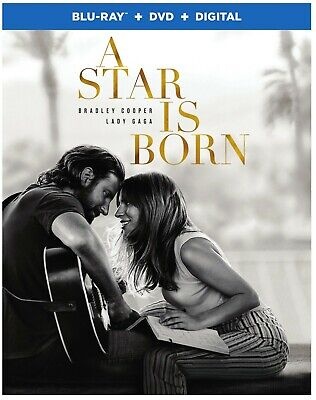 A Star is Born (2018) [Blu-Ray, DVD, Digital] Brand New & Sealed! Free Shipping!
