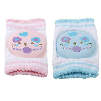 Infant Baby Crawling Elbow Cushion Anti-slip Toddlers Knee Pads Protector BL3