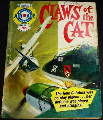 Air Ace No.141 Claws of the Cat see both images for condition