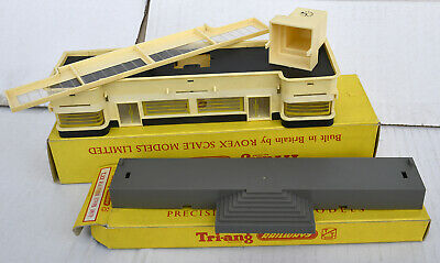 Triang Tt Boxed Booking Hall And Platform Steps Unit